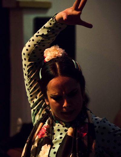 Bailarina de Flamenco en Nerja