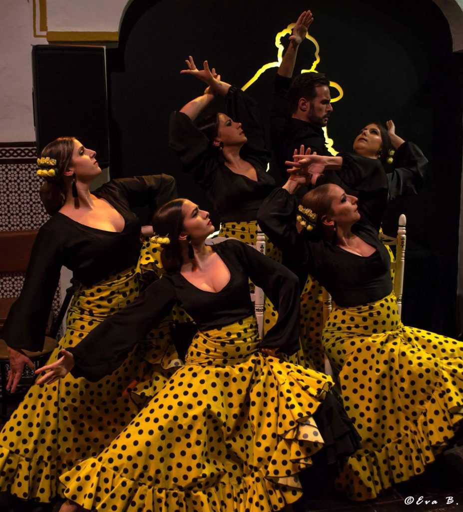 Bailarinas de flamenco en Nerja