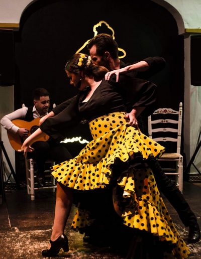 Tablao de flamenco en Nerja
