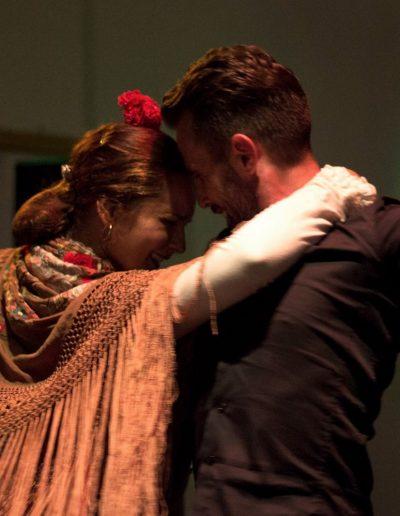 Bailarines de flamenco en Nerja